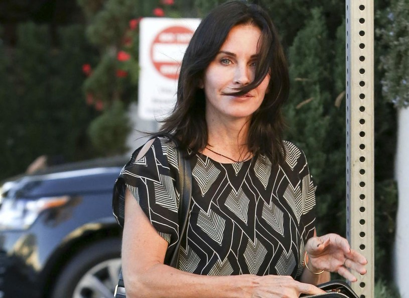 Courtney Cox /Vida/face to face /East News