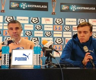 Cracovia - Korona 2-2. Gino Lettieri: Gratuluję mojej drużynie (wideo)