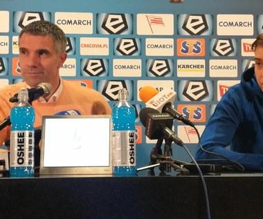 Cracovia - Korona 2-2. Gino Lettieri: To zwykły brak szacunku (wideo)