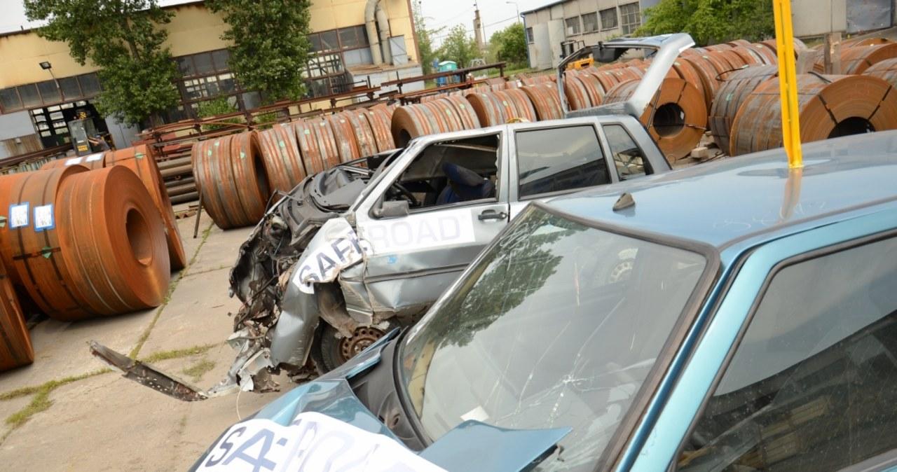 Crash testy w Inowrocławiu