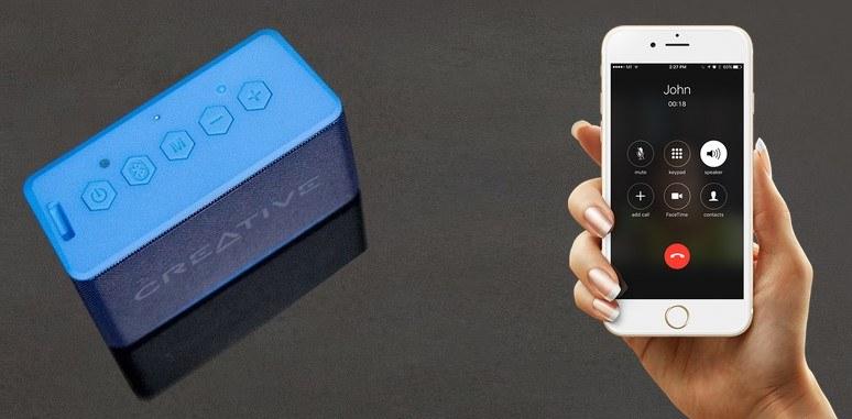 Creative Muvo2c - bez problemu parujemy go ze samrtfonem /materiały prasowe