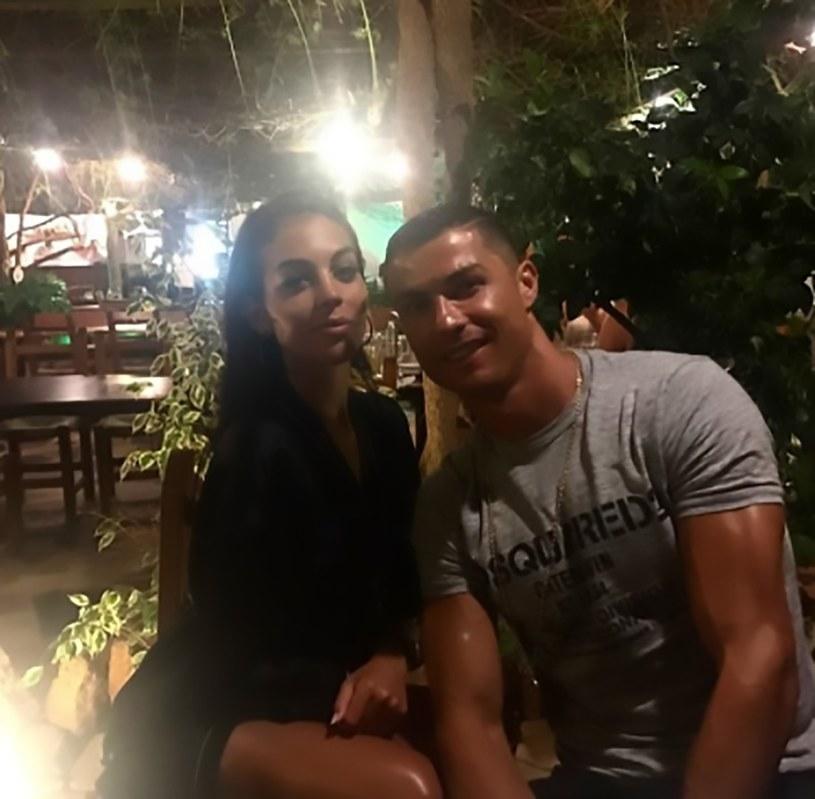 Cristiano Ronaldo i Georgina Rodriguez /Instagram
