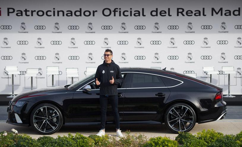 Cristiano Ronaldo i jego nowe Audi RS7 /