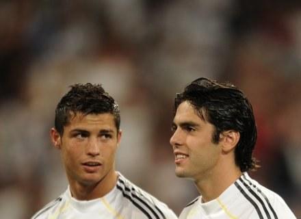 Cristiano Ronaldo i Kaka z Realu Madryt, to krezusi finansowi. /AFP