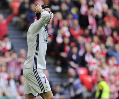 Cristiano Ronaldo nie lubi być zmieniany. Wideo