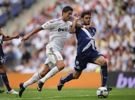 Cristiano Ronaldo - nowa gwiazda Realu Madryt /AFP