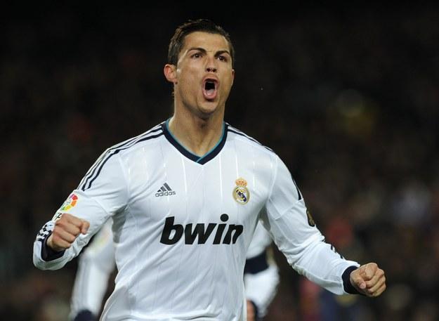 Cristiano Ronaldo rozegrał na Camp Nou wielki mecz /AFP