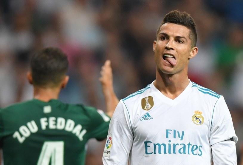Cristiano Ronaldo wrócił, ale Real przegrał z Betisem /AFP
