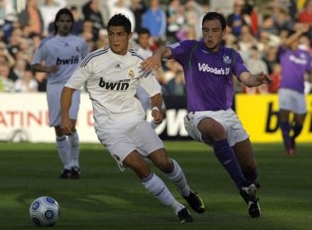 Cristiano Ronaldo zadebiutował w Realu Madryt /AFP