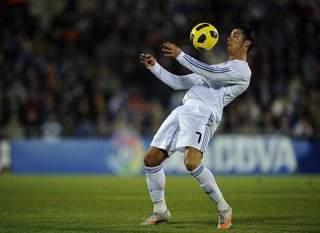 Cristiano Ronaldo zdobył dwa gole w meczu z Getafe /AFP