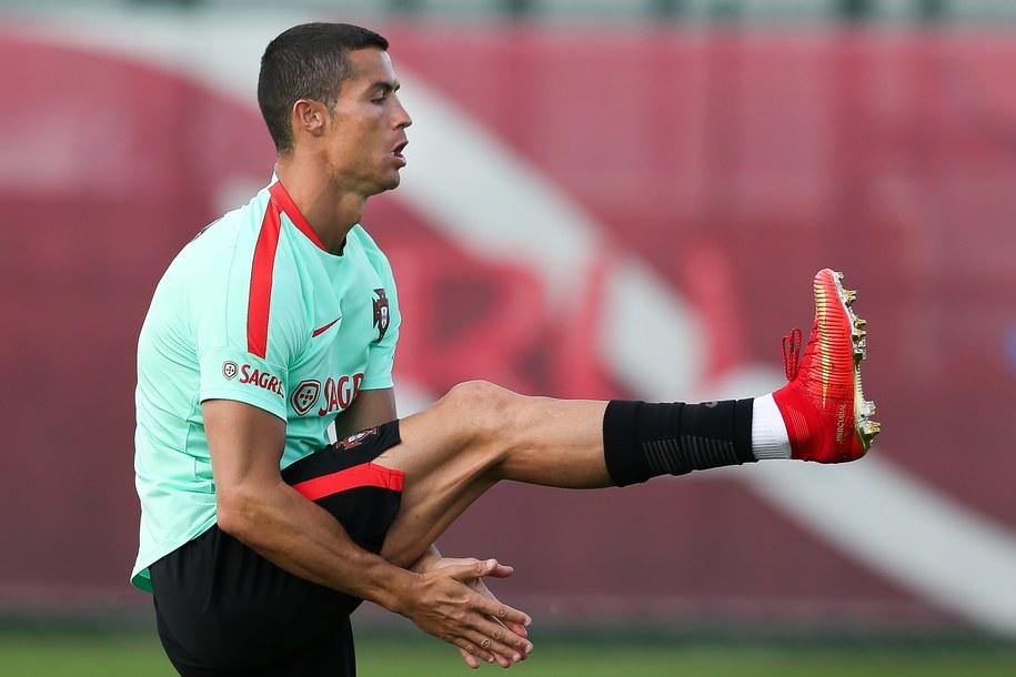Cristiano Ronaldo /PAP/EPA/MARIO CRUZ /PAP/EPA