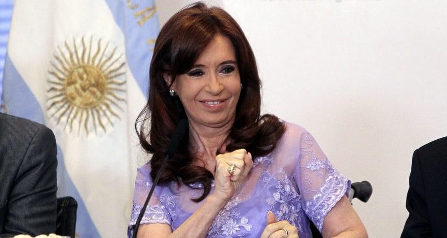 Cristina Fernandez de Kirchner /PAP/EPA/DAVID FERNANDEZ /PAP/EPA