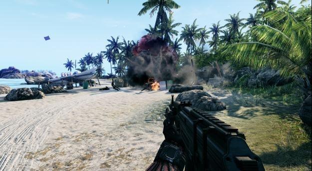 Crysis w wersji na konsole to miłe wspomnienie wybitnej gry /Informacja prasowa