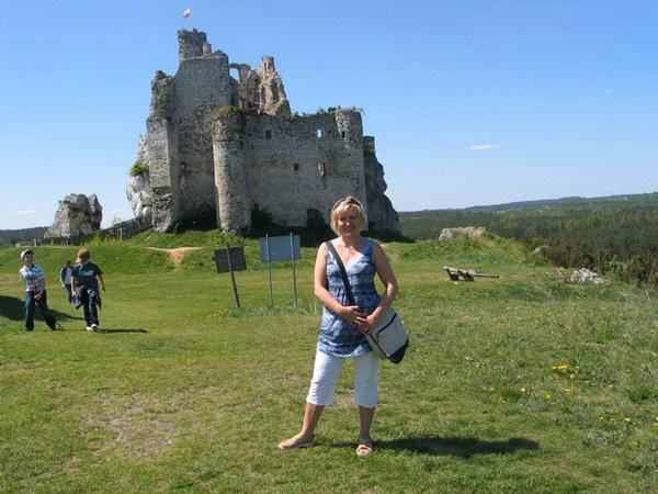 Zdobyłam Zamek w Mirowie :-)