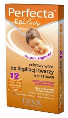 Cukrowy wosk do depilacji twarzy w plastrach /materiały prasowe
