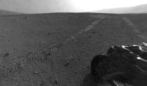 Curiosity – pierwszy kilometr jazdy