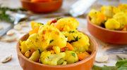 Curry drobiowe z kalafiorem