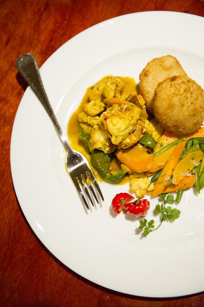 Curry z homara w 689 by Brian Lumley /fot. Diana Zalucky /The New York Times Syndicate