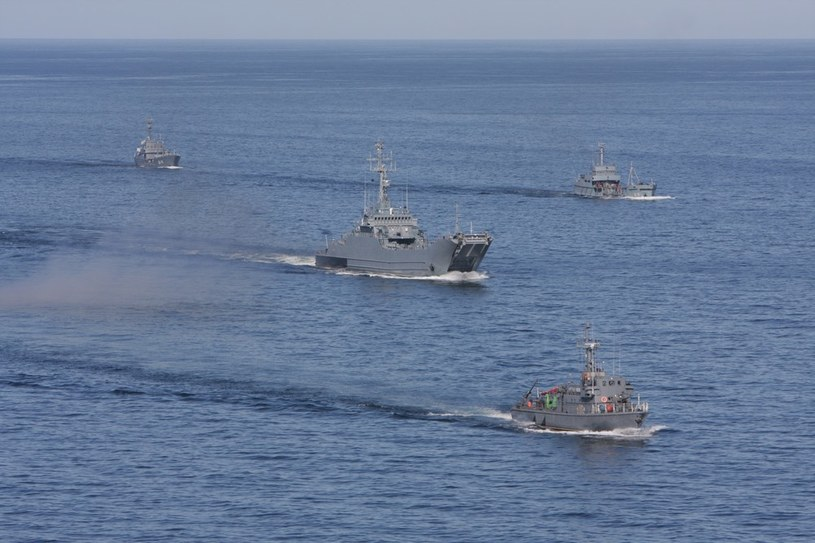 Ćwiczenia 8. Flotylli Obrony Wybrzeża na Baltyku /Daniel Szysz /Reporter