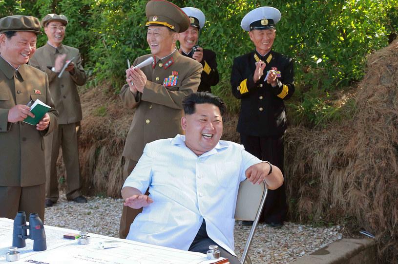 Ćwiczenia wojskowe są najprawdopodobniej nadzorowane przez samego przywódcę Korei Północnej, Kim Dzong Una /AFP