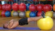 Ćwiczenia z piłką na wzmocnienie dolnej partii pleców