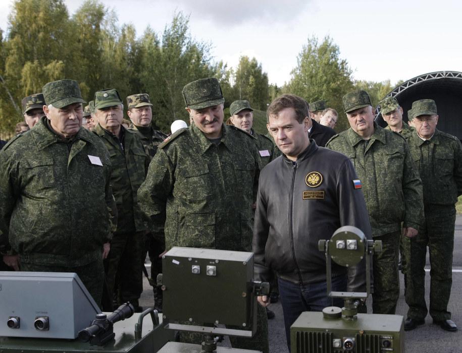 Ćwiczenia Zapad w 2009 roku /Rodionov Vladimir /PAP/EPA