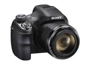Cyber-shot H400 - aparat Sony 63-krotnym zoomem optycznym