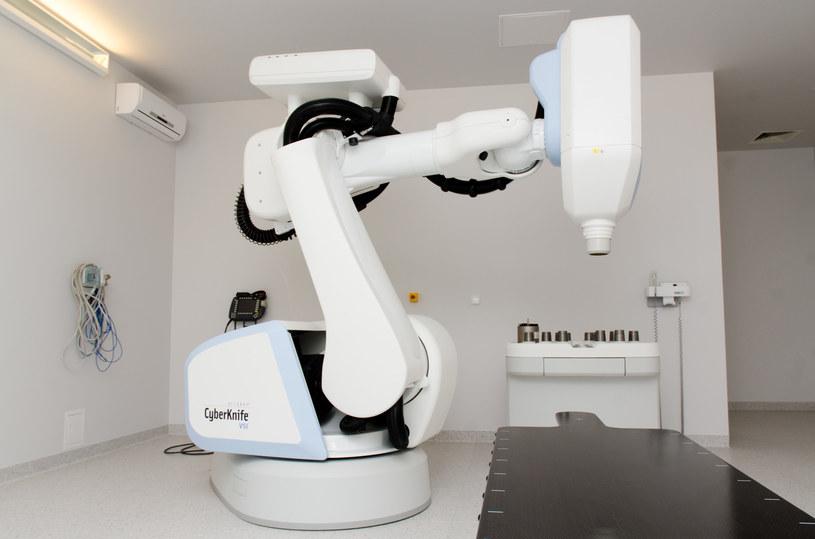 Cybernóż to rodzaj precyzyjnej radioterapii /Marcin Sroka /INTERIA.PL
