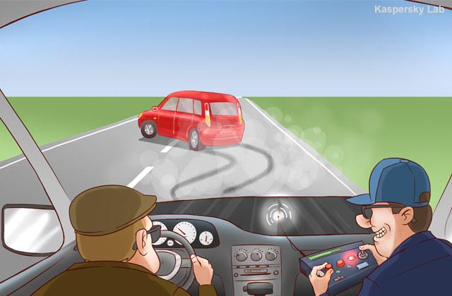 Cyberprzestępcy mogą wykorzystać internet do do wykradania danych, a nawet do uszkodzenia samochodu. /materiały prasowe