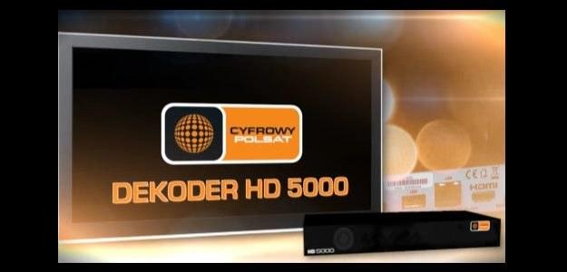 Cyfrowy Polsat - dekoder HD 5000 /materiały prasowe