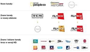 Cyfrowy Polsat wyłącznie z dekoderami HD Nowe stacje i 16 dodatkowych kanałów HD