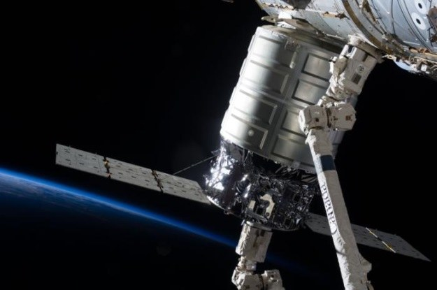 Cygnus już odłączony od ISS /NASA