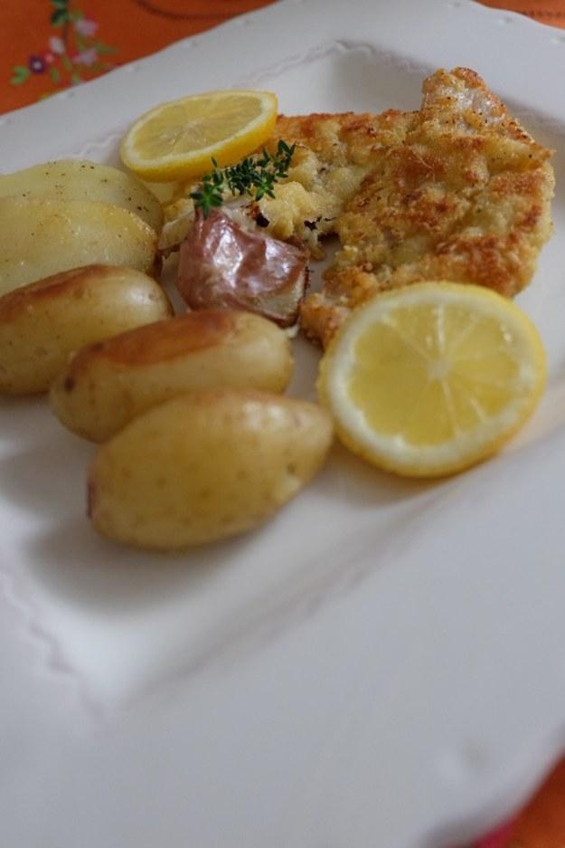 Cytrynowy obiad – cielęcina panierowana w cytrynach i menu na Wielki Tydzień