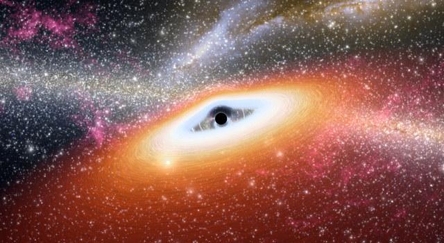 Czarna dziura nie może rosnąć w nieskończoność /NASA