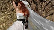 Czarne dodatki hitem w modzie ślubnej