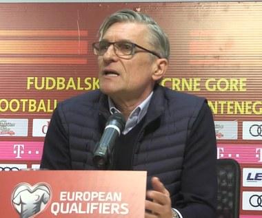 Czarnogóra - Polska 1-2. Nawałka: Nie patrzymy na tabelę