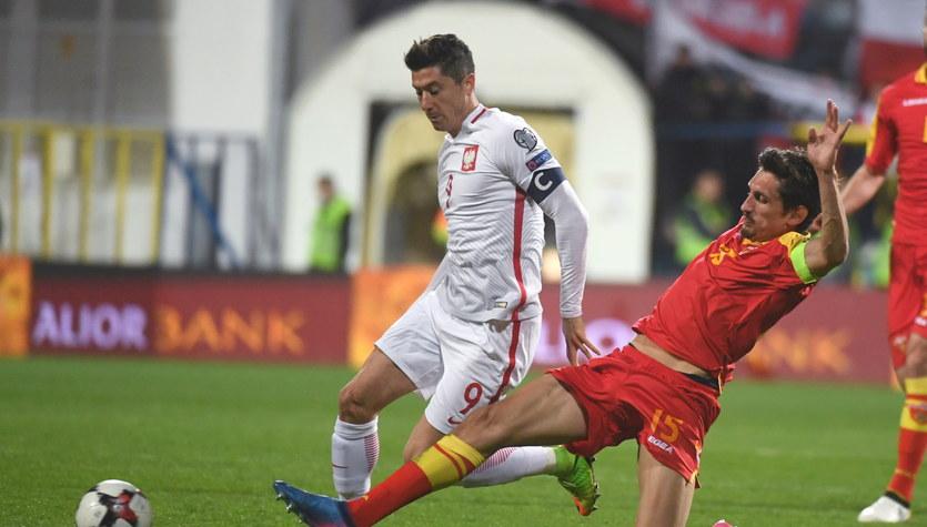 Czarnogóra - Polska 1-2 w meczu el. MŚ 2018