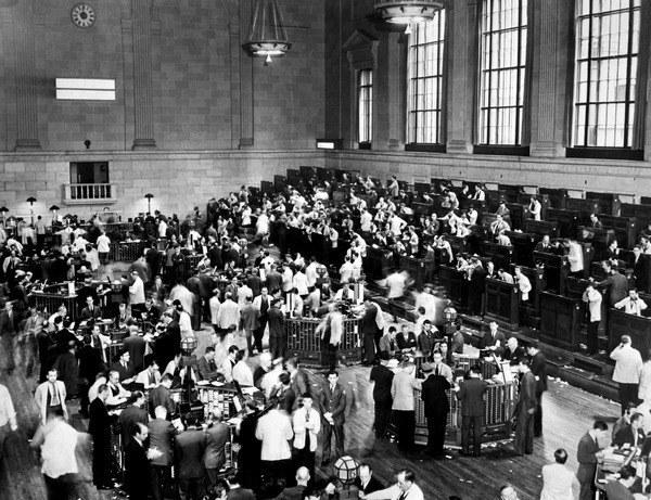 Czarny czwartek na giełdzie w Nowym Jorku /AFP