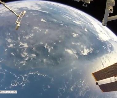 """""""Czasem po prostu musisz nacieszyć pięknem naszej planety"""". Astronauta nakręcił niezwykły film"""