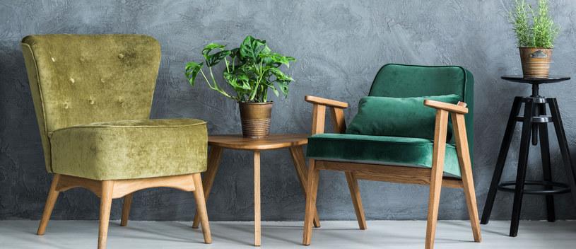 Czasem wystarczy zmienić tapicerkę, aby fotelom nadać współczesnego charakteru /Picsel /123RF/PICSEL