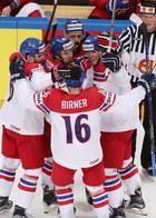 Czechy - Rosja 3-0 i Finlandia - Białoruś 6-2 na MŚ w hokeju