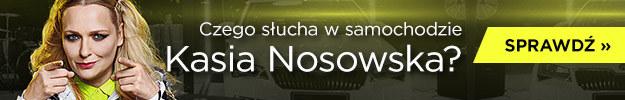 Czego słucha w samochodzie Kasia Nosowska? /