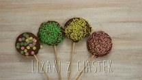 Czekoladowe lizaczki z ciasteczek