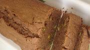 Czekoladowy cake z pistacjami