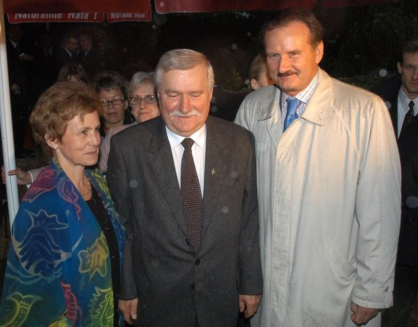 Czempiński na 60. urodzinach Lecha Wałęsy /East News