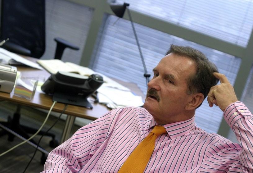 Czempiński w trakcie pracy dla Deloitte /East News