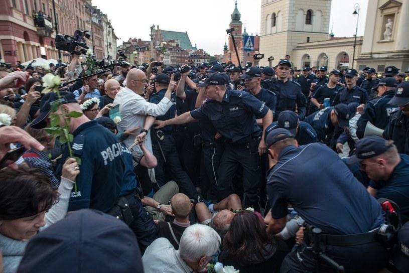 Czerwcowa miesięcznica smoleńska /Daniel Gnap /East News