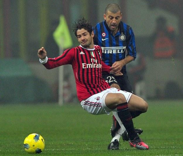 Czerwień - według kibiców Interu - zarezerwowana jest dla AC Milan. Ich odwiecznego rywala /AFP