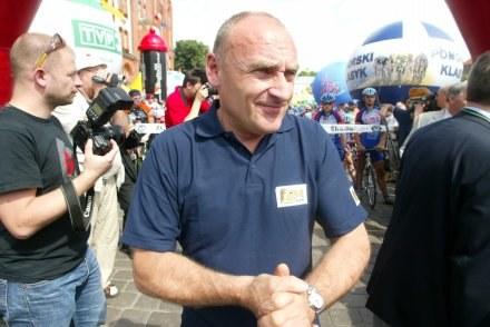 Czesław Lang zaciera ręce przed niedzielną imprezą Fot: Piotr Nowak /Agencja Przegląd Sportowy