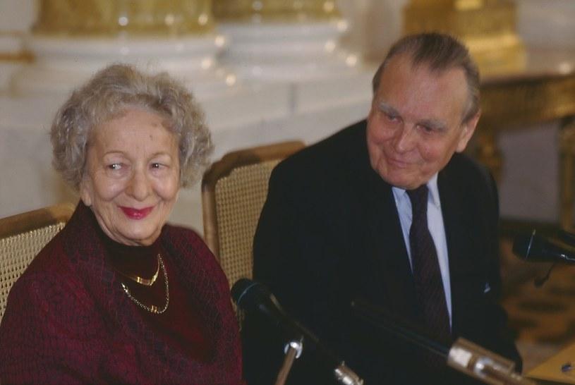 Czesław Miłosz i Wisława Szymborska /East News